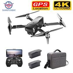 Drone GPS 4K HD 5G Wifi FPV bezszczotkowy silnik lotu 28 minut odległość sterowania 1640 stóp 50 razy zoom kamery drone z kamerą