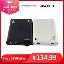 TOPPING NX4 DSD Hifi DAC Headphone Amplifier Audio ES9038Q2M XMOS XU208 USB DAC Headphone Amplifiers Portable Amp