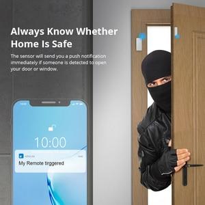 Image 5 - SONOFF DW2 RF 433Mhz Wireless Door Window Sensor App Notification Alerts For Smart Home Security Alarm Works SONOFF RF Bridge