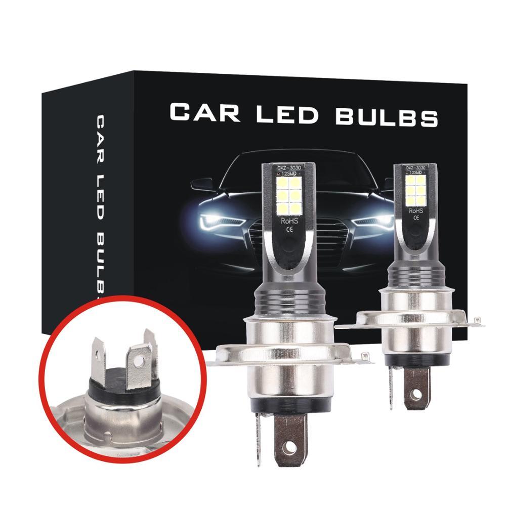2Pcs Auto H8 H11 led 9005 hb3 9006 hb4 h4 h7 3030 Nebel Lampe Tagfahrlicht Glühbirne 300k 8000k Drehen Parkplatz Bulb12V 24V