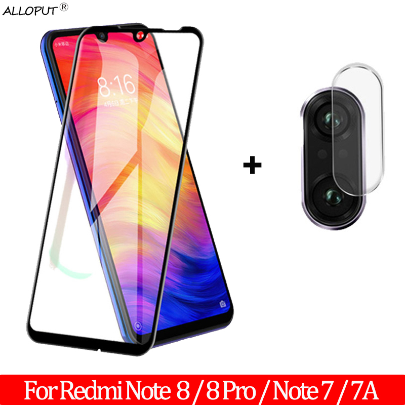 9H Tempered Glass Redmi 7 A Note 7 8 Screen Protector Protective Film For Xiaomi Redmi 7A Note 7 8 Pro Camera Galss Redmi Note 8