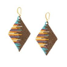Go2boho MIYUKI Earrings Bohemian For Women Pendientes Earring Chic Boho 2019 Loom Beads Summer Fashion Jewelry Aretes