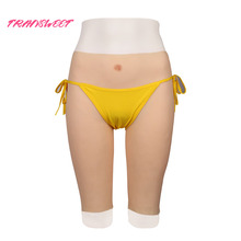 TRANSWEET Silicone Realistic Vagina Panties Shemale Crossdresser Pussy Pants Transgender Artificial Sex Fake Underwear