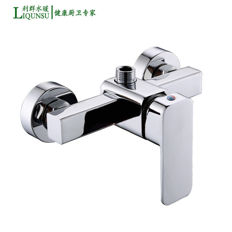 Manufacturers Wholesale Solar Mixing Valve Bathroom Concealed Tub Faucet Hot And Cold Square Shower Faucet