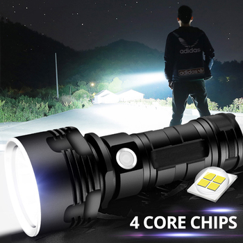 12000LM Super Powerful LED Flashlight XM-L2 XHP70 Tactical Torch USB Rechargeable Linterna Waterproof Lamp Ultra Bright 1809cob super powerful led flashlight xm l2 u3 tactical torch lamp ultra bright lantern usb rechargeable linterna waterproof