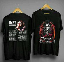 New Ozzy Osbourne No More Tour 2018 T-Shirt Size S 3Xl Round Neck Best Selling Male Natural Cotton Shirt Top Tee