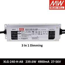 MEAN WELL – alimentation électrique de commutation 240W 4900mA 27-56V, constante, Meanwell, pour 2 cartes QB288 LM301H