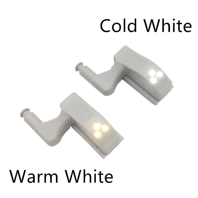 5pcs Mechanical Sensor Intelligent Sensor Light Safety Robe Lamp Night Light Room Quarter Cabinet Kitchen Cabinet Ampoule Lamp