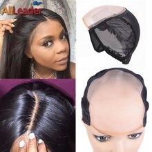 Однонитевая шапочка для парика больше всего аналогичная коже