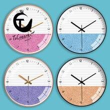 [12-Inch 30cm] Living Room Creative Mute Wall Clocks Reloj De Par Shabby Chic Best Selling 2018 Products Clock