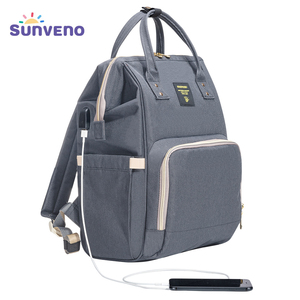 SUNVENO Mommy Diaper Bag Large