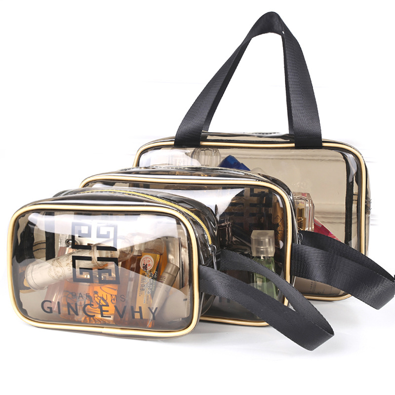 Fashion Waterproof Multi-function Make Up Bag Cosmetic Bag Toiletry Travel Bath Organizer Bag 3 Sizes Large Capacity Wash Pouch
