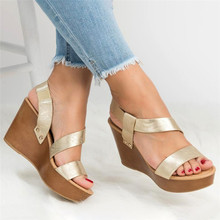 COOTELILI Women Slip On Summer Sandals Flat Shoes Flip Flops Shoes Female Non-slip Fashion Sandals Flat Women Fashion Flats cheap Basic Wedges Open Rubber High (5cm-8cm) 0-3cm Casual Slip-On Fits true to size take your normal size Back Strap Platform
