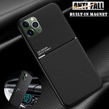 Coque For iPhone 11 12 Pro XS Max Mini 8 7 6S 6 Plus XR X 5S 5 Magnet Anti Shock TPU Shell Case Cover For Apple iPhone SE 2020