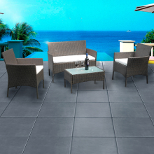 4 Piece Rattan garden furniture Set priced to clear immediately at a crazy price