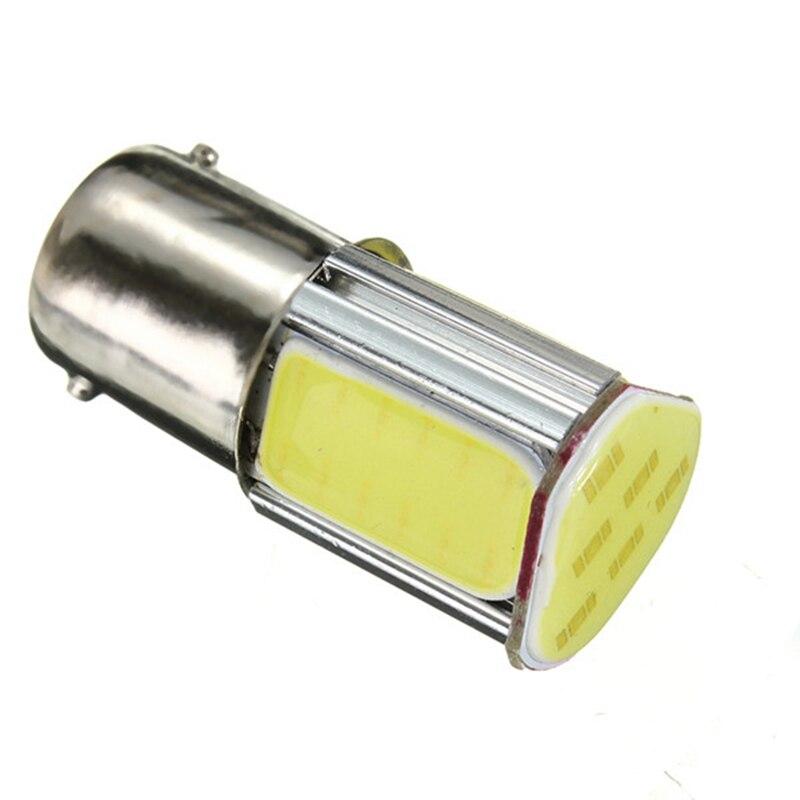 2pcs 12V  Lights 5W 1156 COB LED Bulb 1156 Auto  Turn Light Lamp 500lm 6500-7000K White Support Dropshipping