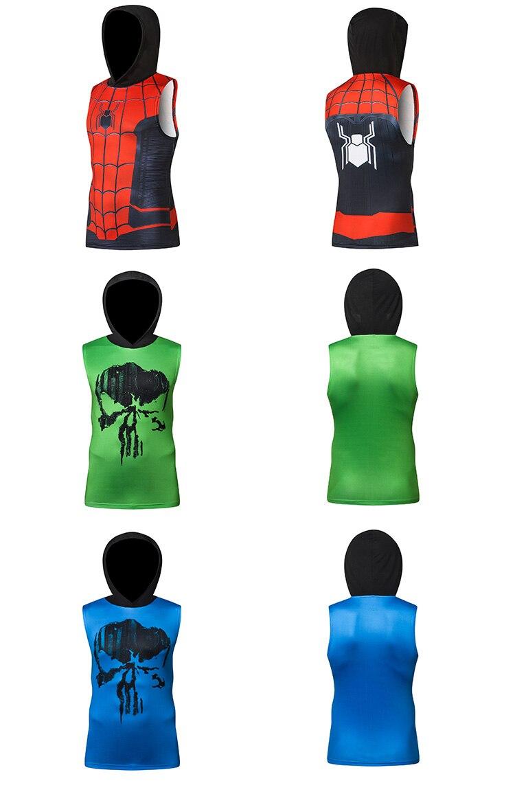 Men's Superhero 3D Printed Tank Top 23
