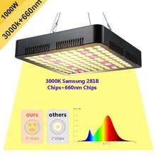 Artoogs 1000 Вт samsung 281b фишки солнечного света полный спектр