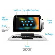 2g + 64g 3e 10.1 polegadas tablet pc windows 10 pro com teclado de encaixe & tocando pen1366 * 768 ips tela câmera dupla hdmi-compatível