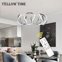 Современный светодиодный светильник люстра для дома подвесной