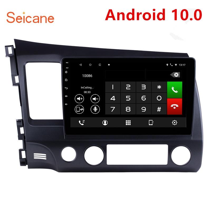 Seicane Android 10,0 2 Din Auto Radio WIFI Bluetooth 4-Core-Multimedia-Player für 2006 2007 2008 2009 2010 2011 Honda Civic