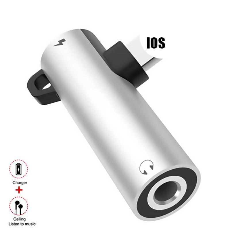 Для освещения до 3,5 мм разъем для наушников Aux аудио адаптер для iPhone X 7 8 Plus OTG адаптер конвертер сплиттер поддержка системы IOS