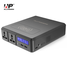 ALLPOWERS Power Bank 154W 41600mAh 2 개의 110V AC 콘센트 iPhone 용 외장 배터리 충전기 Samsung MacBook Lenovo Acer ASUS 등