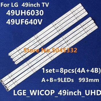 993 мм светодиодный ТВ Подсветка для LG 49UH610A 49UH6100 49LF5100 49UH6030 49UF640V 49UF6407 49UF640 49LF510V LGE_WICOP_49inch_UHD