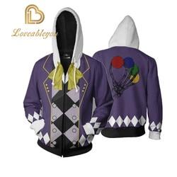 Anime preto mordomo cosplay trajes ciel phantomhive hoodies 3d impresso pulôver moletom jaquetas casual outfit casaco topos