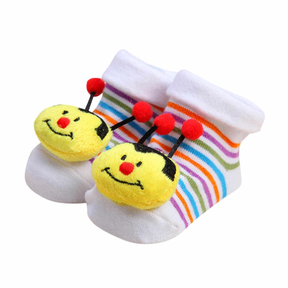 De dibujos animados Anti-slip calcetines zapatillas recién nacido zapatos para bebé, Niña y niño Botas Skarpetki Antypo Lizgowe Meias Infantil NIÑOS Calcetines