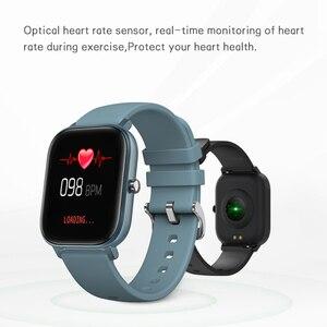 Image 5 - Смарт часы SENBONO 2020 P8 для мужчин и женщин спортивные водонепроницаемые часы IP67 пульсометр Монитор артериального давления умные часы для IOS Android