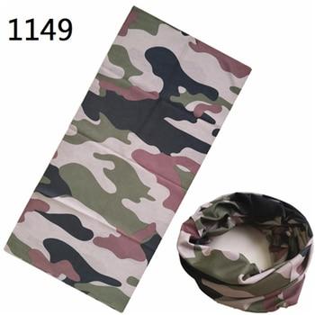 Military Army Camouflage Series pattern Bandanas Sports Ride Bicycle Motorcycle Turban Magic Headband Veil Scarf 3