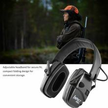 Electronic Shooting Earmuff Anti-Noise Earmuffs Headset Foldable Hearing Sport Outdoor Hunting Fold Ear Protective Features