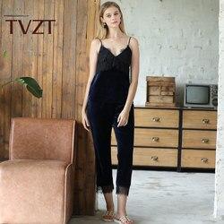 Tvzt 2020 New Pyjamas Women Summer New Shorts Sexy Nightwear Two-piece Women Satin Pajamas Set Suit Artificial Silk Home