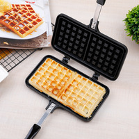 Waffle Mold Household Baking Biscuit Mold Gas Cake Baking Tray Waffle Machine DIY Tools Waffle Maker  Bakeware  Egg Roll Pan Waffle Molds Home & Garden -