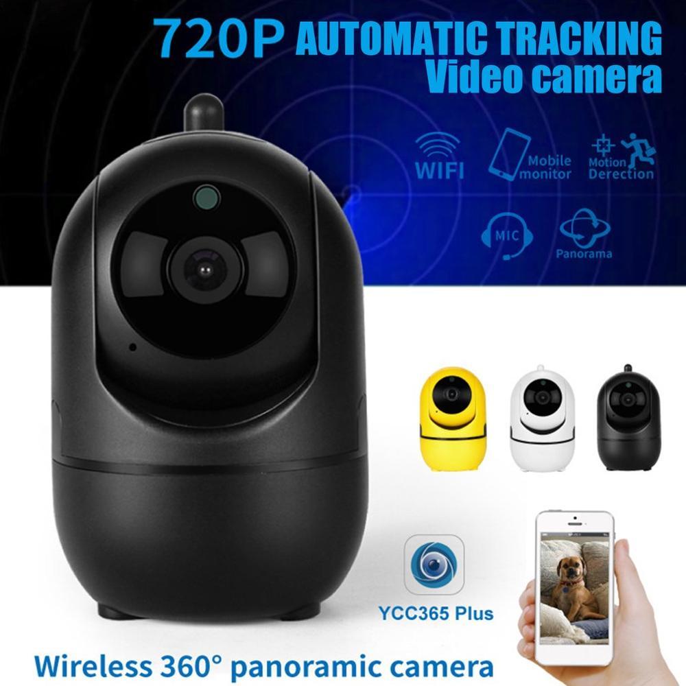 Cámara inteligente Auto Seguimiento HD 1080P nube inalámbrica IP seguridad hogar