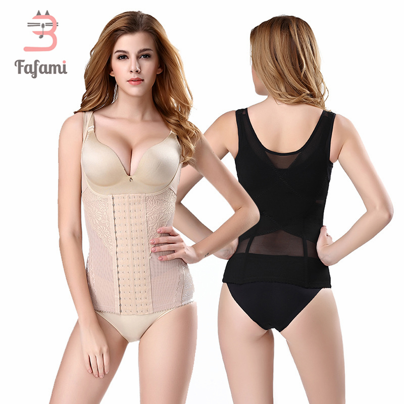 Tops Bandage Underbust Body-Shaper Corset-Waist-Trainer Belly-Belt Recovery Postpartum