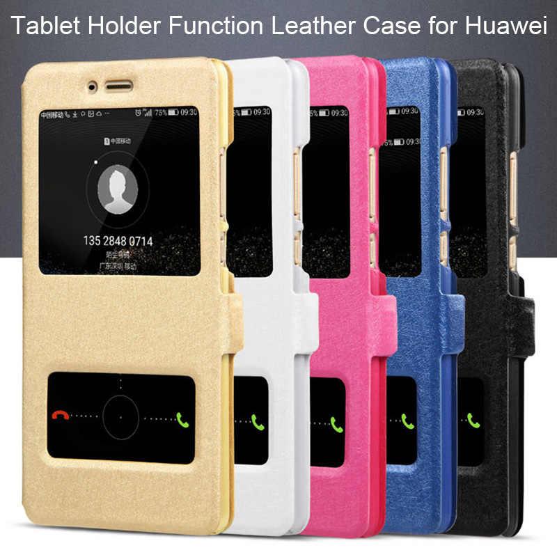 Funda de cuero PU con tapa 360 para Huawei Y9 Y7 2019 Y5 Lite Y6 Prime 2018 Y3 ii funda con soporte para Huawei P Smart 2017 Y6 2019