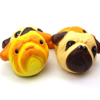 Squishy Squish Adorable dog's head Slow Rising Squishies Fruits Scented Cream Squeeze Toys Antistress Gadgets Stress Relief Toy squish slow rising kawaii ice cream peach toys for kid squishy slow rising soft animal squeeze toy squishy children anti stress