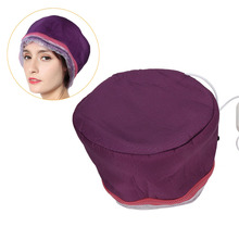 Hat Hair-Mask Spa-Steamer Electric-Heating for Home Salon Baking-Oil-Cap Hot-Oil