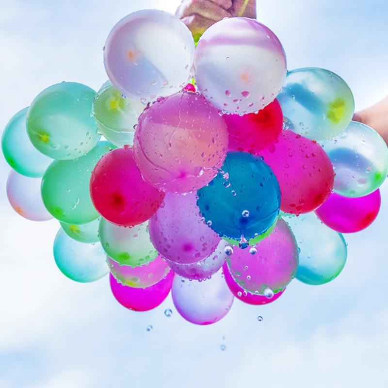 111pcs Water Balloon Amazing Filling Magic Balloon Children Water War Game Supplies Kids Summer Outdoor Beach Toy Party