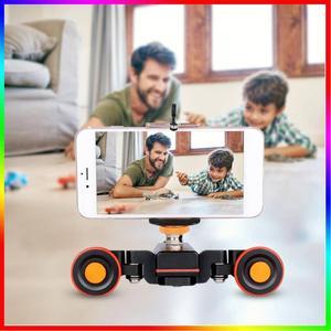 YELANGU L4X мини-моторизованный слайдер, электрическая гусеничная камера, слайдер, мотор, тележка, машина для dslr камеры, видеокамера, DV-видео 2019