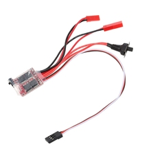 цена на 30A Mini Brushed ESC Brushed Electronic Speed Controller for RC Car for Controller Boat Car Proto Tank Top Regulator