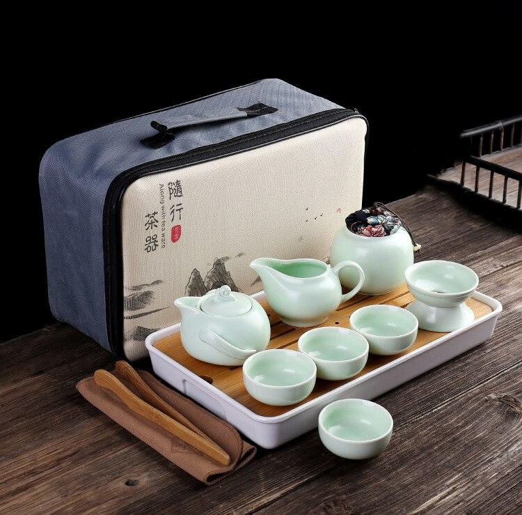 Personalizar chinês kung fu conjunto de chá