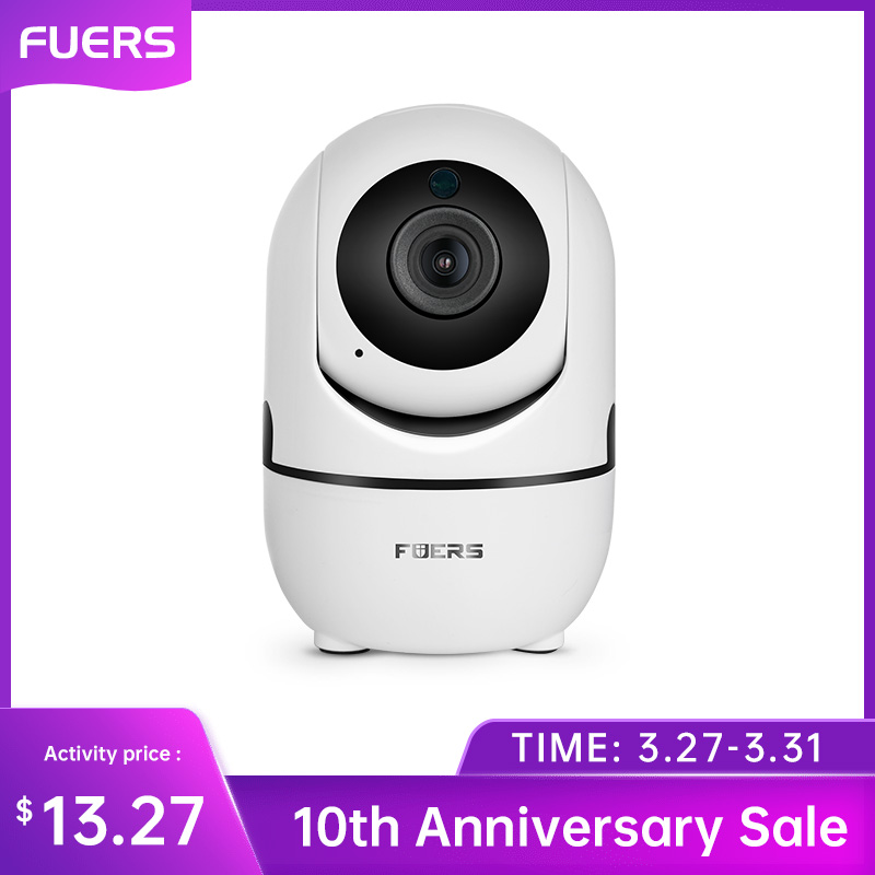 Fuers HD 1080P IP Camera Home Security Indoor Camera CCTV Surveillance Mini Wireless Security Camera WiFi Camera Night Vision
