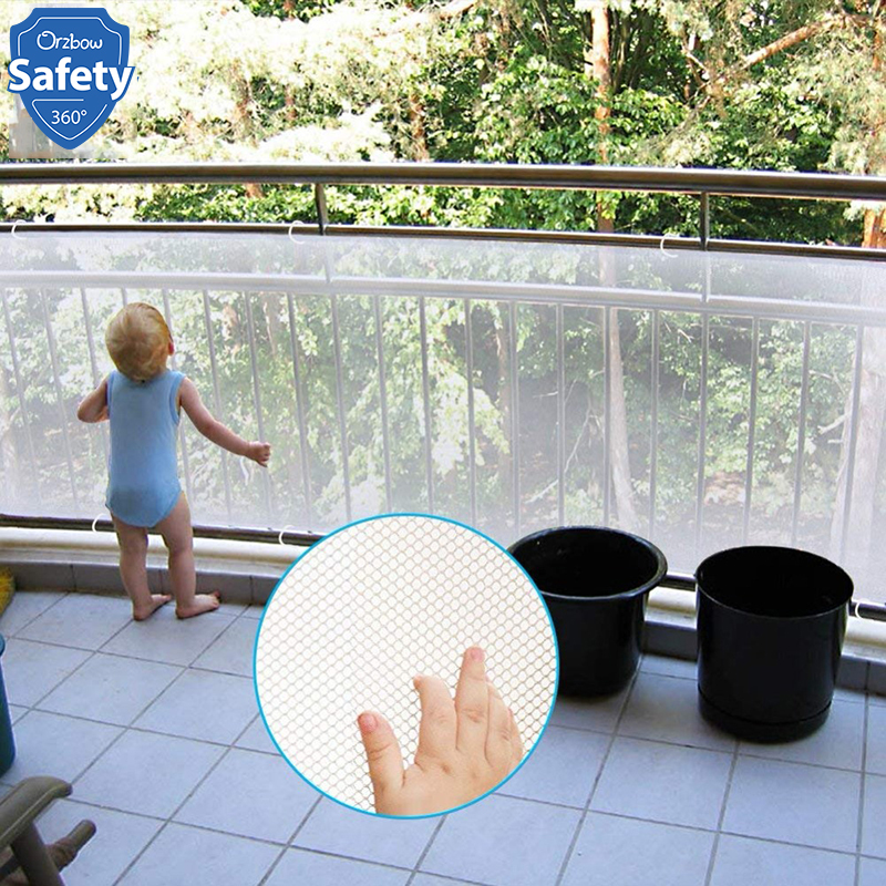 Baby Fence Kids Safety Mesh For Stairs And Balcony Thickening Children Security Net Safety Gate Balcony Stairs Fence Net
