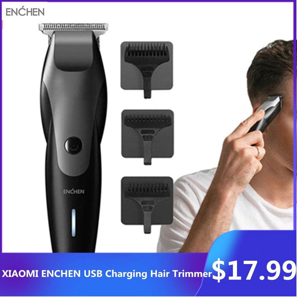 Mijia ENCHEN USB Charging Hair Trimmer Hair Clipper Beard Trimer Body Electric Shaver Hair Cutting Machine Haircut Men