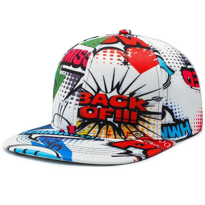 Women Men Letter Graffiti Hip Hop Cap Cotton Ladies Face Caps Daily Outdoor Soprt Cappellino Baseball Cap Snapback Hat