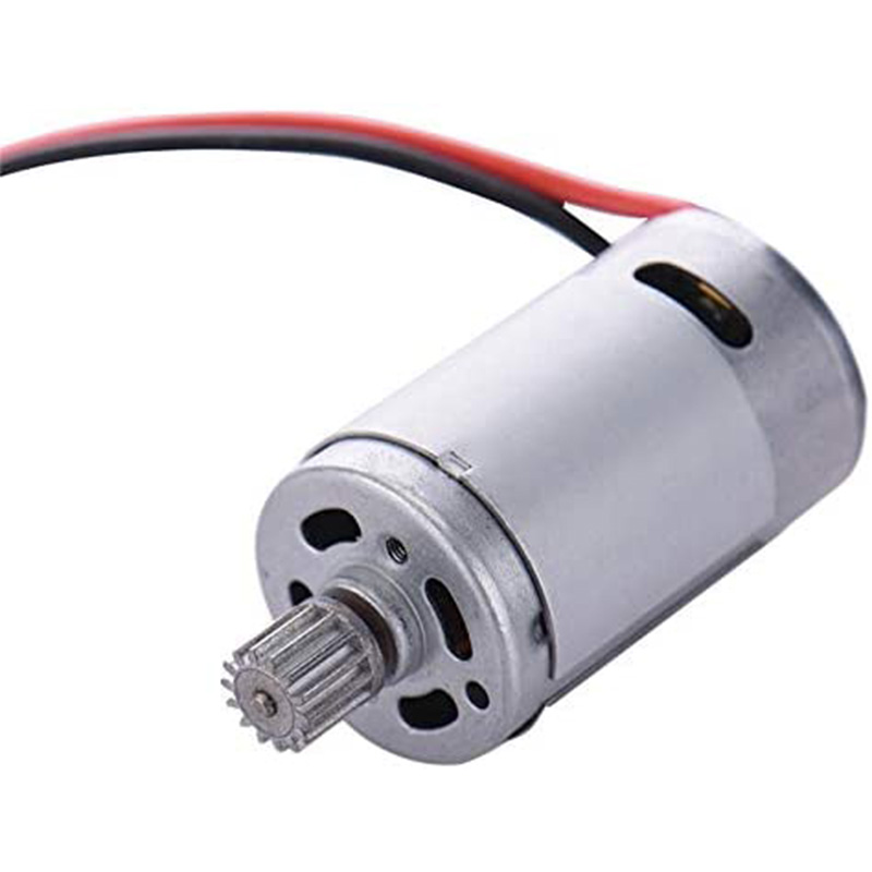 15-DJ01 390 Motor with Gear Car Parts for S911 S912 9115 9116 RC Car 390 Motor Electric Brushed Motor Replacement image