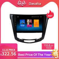 "Dasaita 10.2 ""Android 9.0 voiture GPS Radio pour Nissan x-trail Qashqai J10 J11 2014 2015 2016 2017 stéréo multimédia Navigation"